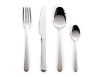 Set 24 pjesësh me lugë, piru dhe thika