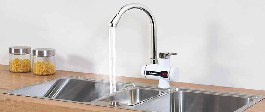 Rubinet digjital për ngrohjen e ujit